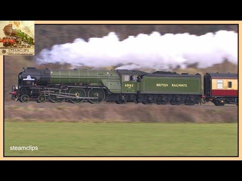 60163 Tornado Whirls Through the Westcountry. The Devon Belle, 2nd April 2016