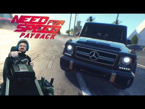 Need for Speed Payback - Погони на Гелике - Mercedes-Benz G 63 AMG и в поисках реликвии