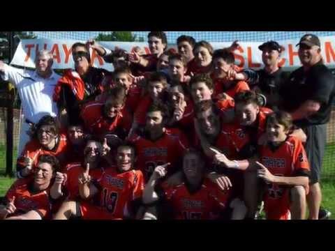 Thayer Academy  ISL Champions 2014