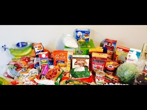 Weight Watchers *HUGE* Grocery Haul! Lots of my FAVORITE foods! Low Calorie Foods! 2014