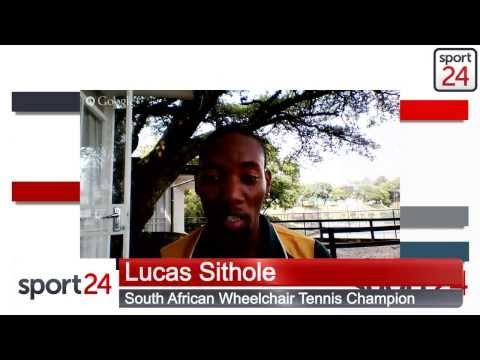 5 minutes with wheelchair tennis champion Lucas Sithole