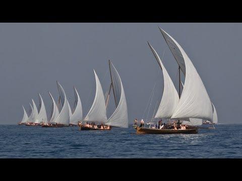 Racing of the Dhows in Abu Dhabi | Volvo Ocean Race 2011-12