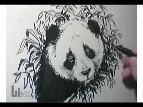 hqdefault jpgPanda Drawing In Pencil
