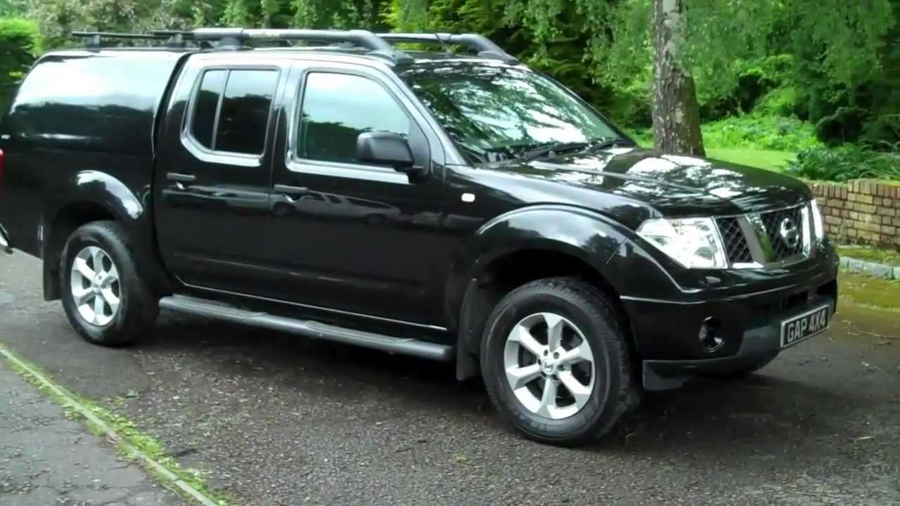 nissan navara 2 5 dci outlaw 6 speed manual black with. Black Bedroom Furniture Sets. Home Design Ideas