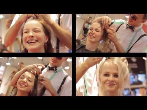 Ladies Shave Heads For New Ipad video