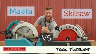 The Biggest Circular Saw Review: The Makita VS Skilsaw Beam Saws