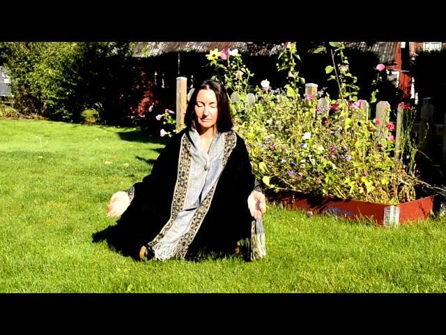 MEDITATE for ISHAR: Aurora Carlson starts the meditation wave - Deepak Chopra
