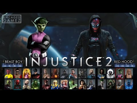 Injustice 2: Full Character Roster Wishlist!