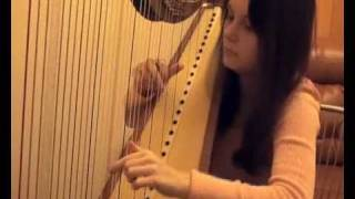 Antoine Francisque. Ancient dances.  Harp.