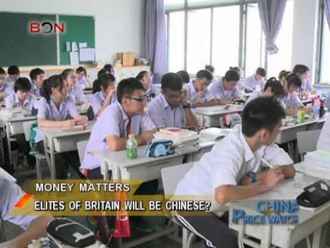 Elites of Britain will be Chinese? - China Price Watch - January 14, 2014 - BONTV China