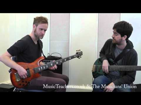 Bass Guitar Lesson: Mauricio Pauly: 1 Improvisation And Fluency Through Chord Changes video