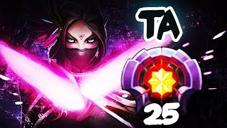 FIRST LEVEL 25 TEMPLAR ASSASSIN Immortal Rank - Dota 2 EPIC Gameplay Compilation