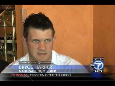 EXCLUSIVE! Bryce Harper 1 on 1 w WJLA's Britt McHenry