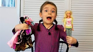 Barbie clothes!! Buying clothes for barbie!! Много одежды ДЛЯ БАРБИ!!! ❤ Veronika Romanovna