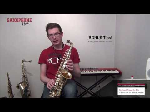 Careless Whisper Sax Notes And Saxophone Lessons From The Sax School video