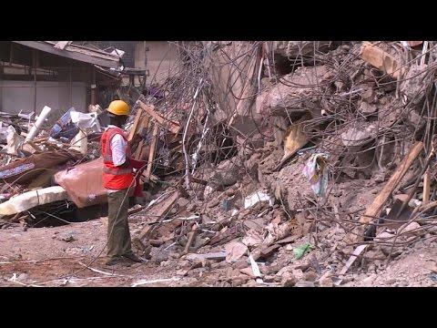 Nigeria: 42 morts dans l'effondrement d'un immeuble