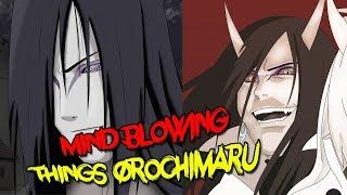 Mind Blowing Things About Orochimaru - Naruto & Boruto