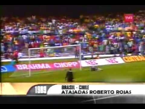 Roberto Condor Rojas - grandes tapadas por la selección chilena