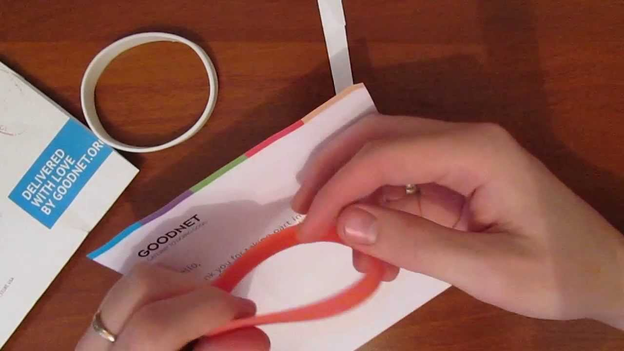 Как в домашних условиях сделать силиконовый браслет