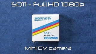SQ11 mini DV Full HD camera review (full reworked manual)