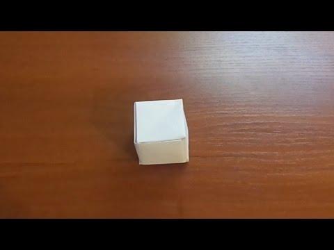 Оригами - Кубик из бумаги