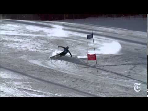 Ski slalom motivation - Ted Ligety. Deep power