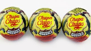 3 Chupa Chups Surprise Eggs How To Train Your Dragon 2 Kinder Surprise