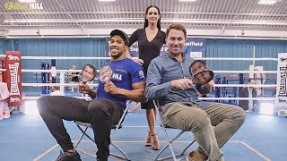 ANTHONY JOSHUA vs. EDDIE HEARN | Hilarious QUIZ | William Hill Boxing