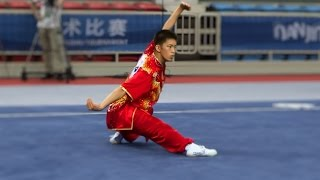 NANJING 2014 Wushu Tournament - Men Changquan USA Wesley Huie 许浩勤 9.54
