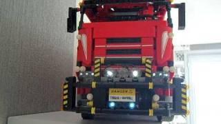 Lego technic camion 8258 + remorque 01:16