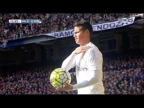 James Rodriguez vs Atletico Madrid Home (27/02/2016) by JamesR10™