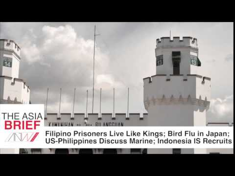 Filipino Prisoners Live Like Kings, Bird Flu in Japan, and more