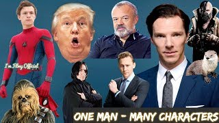 Benedict Cumberbatch Hilarious Celebrity Impressions - Try Not To Laugh 2018