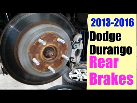 2013-2016 Dodge Durango Rear Brakes
