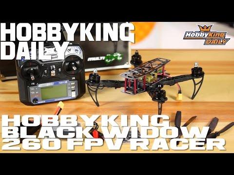 HobbyKing Black Widow 260 FPV Racer RTF - HobbyKing Daily