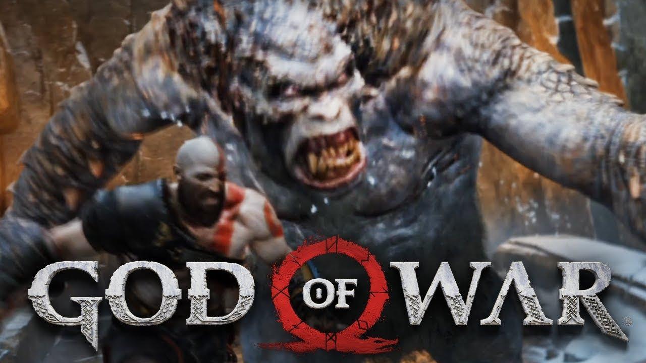 БИТВА С ОГРОМ! ЗАСАДА НА ПРЕДГОРЬЕ - GOD OF WAR 4 #5