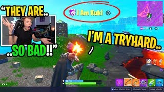 I spectated TRYHARDS after MIDNIGHT and was shocked at how BAD they are... (sweaty)