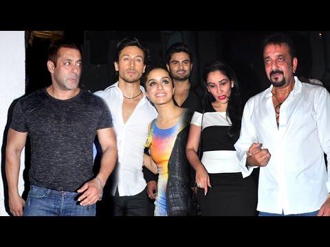 Baaghi GRAND Success Party 2016 | Salman Khan, Sanjay Dutt, Tiger Shroff, Shraddha Kapoor