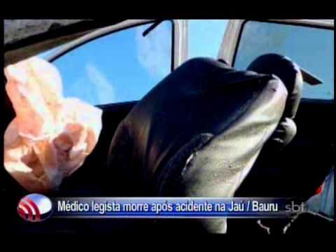 Fala Cidade 16/12/2013   Médico legista morre após acidente na JaúBauru