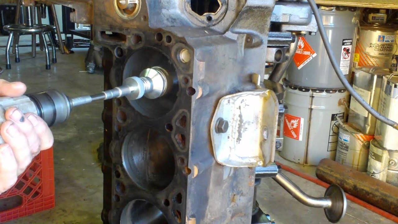 Engine Rebuild 101 - Part 4 - Cylinder Honing - YouTube