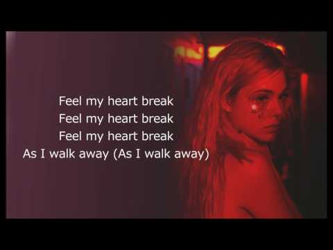 SIA - Waving Goodbye (Lyrics)