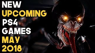 NEW Upcoming PS4 Games in MAY 2018 Gameplay Montage (PlayStation 4 Games Releases MAY 2018)