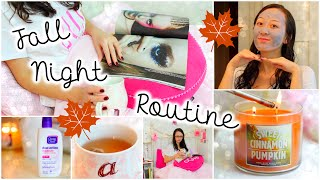 Fall Night Routine: Pampering Spa Night At Home!