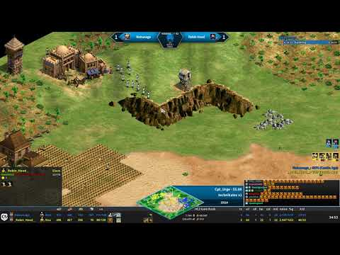 15000 viewers Twitch.tv Clip [Age of Empires II T90Official]