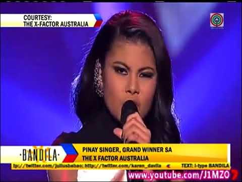 Pinay teen is 'X-Factor Australia' winner