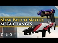 Destiny - What's the new meta? Hotfix 2.5.0.2 patch notes