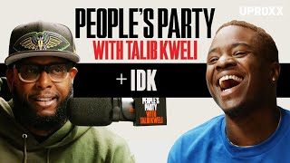 Talib Kweli And IDK Talk Kanye, Denzel Curry, & How Prison Influenced His Music | People's Party