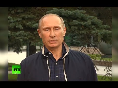 Putin to (Nobel Prize winner) Obama: 'Think about future Syria victims' (FULL VIDEO)