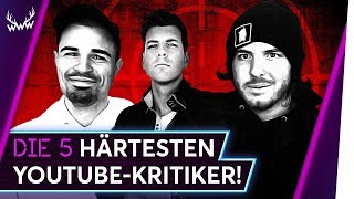 Die 5 HÄRTESTEN YouTube-Kritiker! | TOP 5