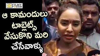 Sri Reddy Emotional Words about Casting Couch in TFI